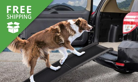 Free Shipping: $69 for a Folding Portable Dog Ramp