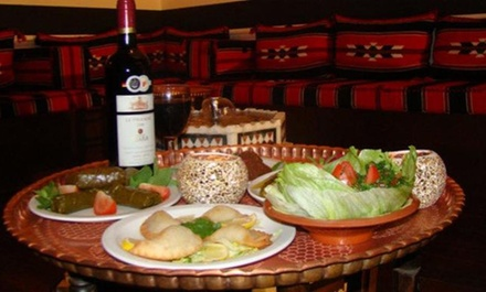 Eight Courses of Meze for Two or 16 Courses of Meze for Four with Wineat Levant Restaurant