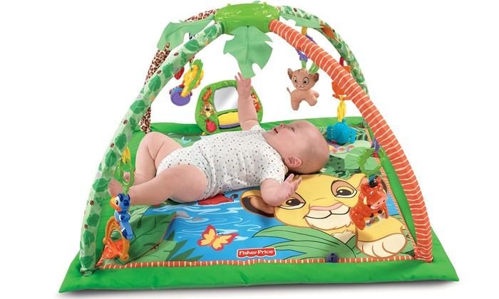 fisher price rainforest play mat instructions