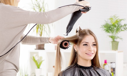 Style Cut and Blow-Dry ($38) with Half-Head Foils or Full Colour ($79), or Keratin Treatment ($119) at The Front Room