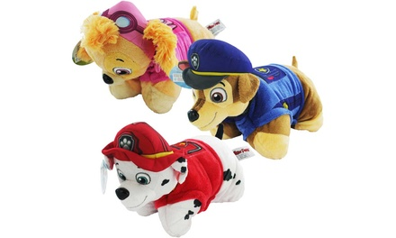 Pillow Pets Paw Patrol Mini Chase, Marshall and Skye Pillow Set