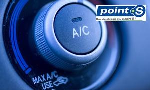 Point S Épinal: Bilan, entretien de climatisation et recharge complète de gaz chez Point S Épinal ou Remiremont à 39,90 €
