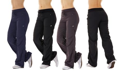 Exclusive: Marika Women's Stretch Woven Drawcord Pants 4021ab2d-ed8d-444b-9b1a-9fa067363a1b