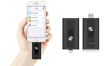Apple Certified iExpand USB 3.0 Flash Drive for iPhone/iPad up to 256GB from €32.99 With Free Delivery (Up to 59% Off)