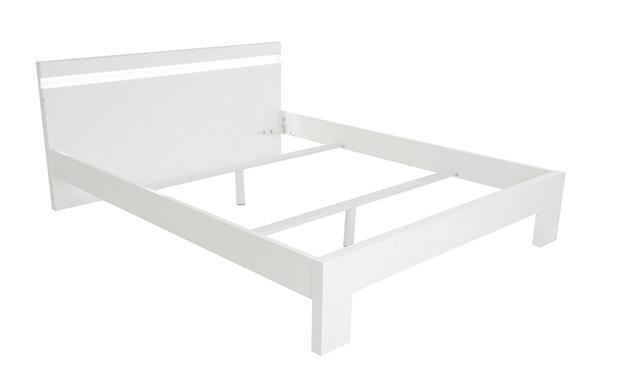 lit led avec ou sans sommier groupon shopping. Black Bedroom Furniture Sets. Home Design Ideas