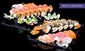 Goko Restauracja Japońska: Tradycyjne menu sushi i umeshu: 35,99 zł za groupon wart 60 zł i więcej opcji w Goko Restauracji Japońskiej (-40%)