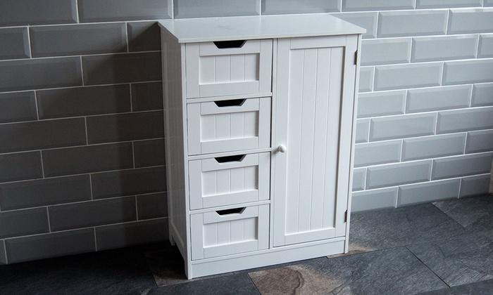 70d2b0c59d26 Priano Bathroom Cabinet   Groupon Goods