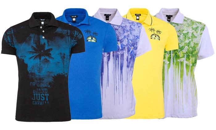 Groupon Goods Global GmbH: Polo da uomo Just Cavalli disponibile in vari colori e taglie