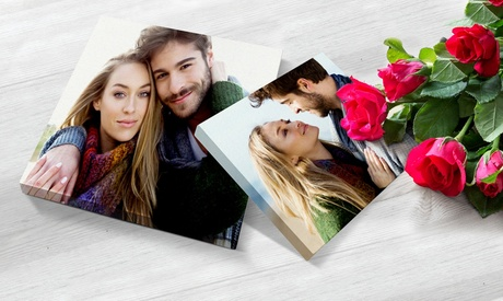 Personalised Photo Canvas in a Choice of Size from Printerpix (Up to 89% Off)