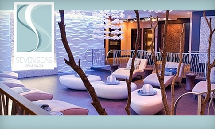 Seven Seas Spa & Salon - Newport Beachside Hotel & Resort: $99 for a Spa Day with Massage, Pedicure, Champagne Lunch, and Beach Access at Seven Seas Spa & Salon (Up to $236 Value)