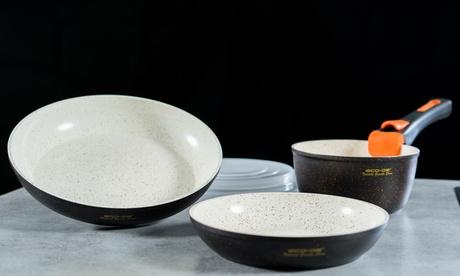 Set de sartenes de 6 piezas Granite Stone ECO-032, envío gratuito
