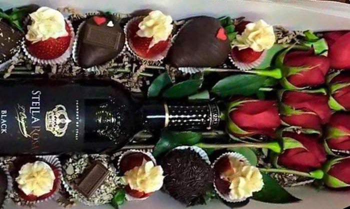 Valentine S Chocolates And Roses Ki S Creations Groupon