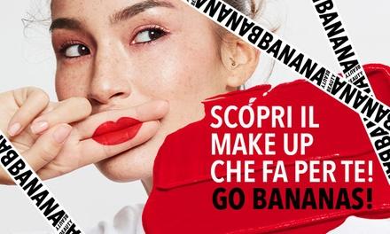 Buoni fino a 50 € per make-up Banana Beauty a 1€euro