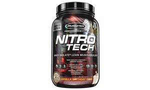 Muscletech Nitro Tech Whey Protein