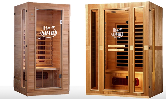 Up to 3-Person Lifesmart Sauna: 1–2- or 3-Person Lifesmart Sauna from $799.99–$1,199.99