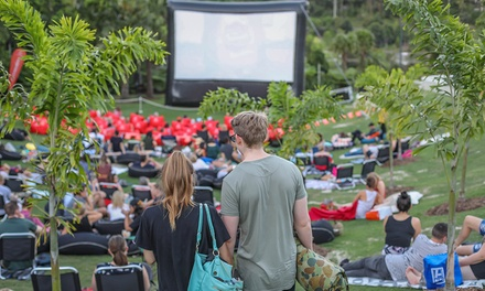 Outdoor Sunset Cinema: One General Admission $15 or Four Tickets $52 Up to $64 Value