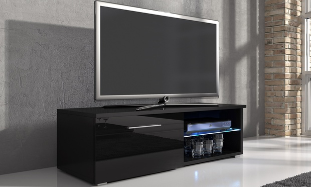 Samuel TV Cabinet With LED | Groupon Goods