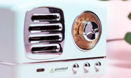 Altavoz retro con radio FM