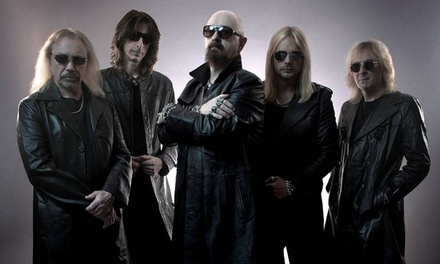 Judas Priest with Steel Panther at Charter Amphitheatre on October 26 at 7:30 p.m. (Up to 40% Off)