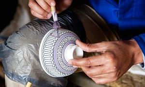 art cuisine: 4 Stunden Keramik-Malkurs für 1 oder 2 Personen bei art cuisine (bis zu 61% sparen*)