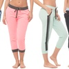Coco Limon Women's Printed Joggers (4-Pack)