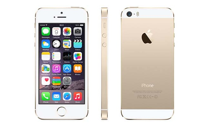 apple iphone 5s 16 64 go reconditionn groupon. Black Bedroom Furniture Sets. Home Design Ideas