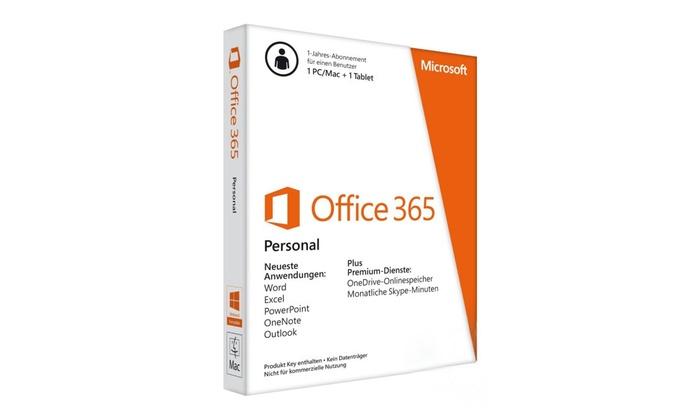 Geizigkaufen: Microsoft Office 365 als Download für PC/Mac