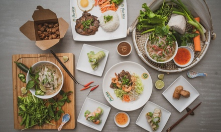 $25, $50, or $100 Gift Card at Pho Hoa Noodle Soup & Jazen Tea (Up to 20% Off)