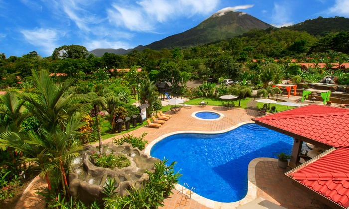 Costa Rican Lodge with Views of Arenal Volcano