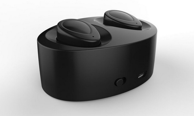 Dual Wireless Stereo Earbuds with a Built in Mic and Charging Case: One ($26.95) or Two Pairs ($49.95)