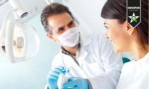 Dr Carlo Mezzena: Visita odontoiatrica con pulizia dei denti, otturazione e sbiancamento LED