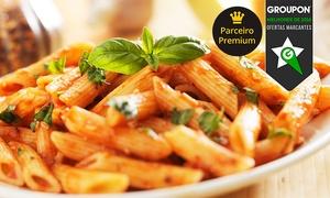 Saatore: Saatore – Lourdes: almoço ou jantar italiano com entrada e prato principal (opção com sobremesa) para 2 pessoas