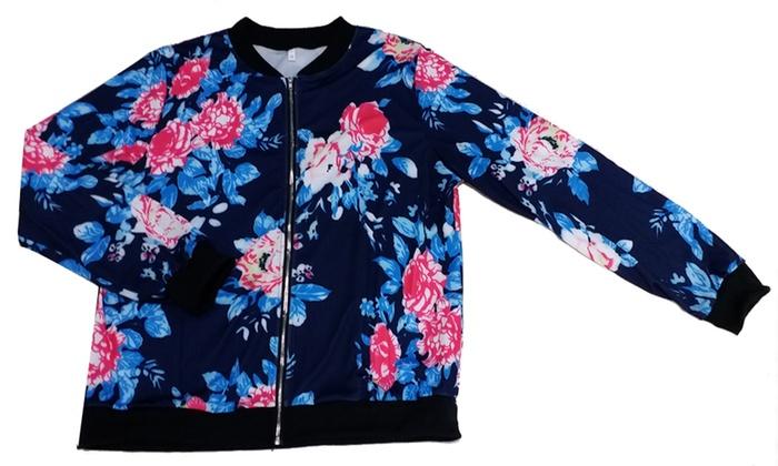 Pour Veste Femme Fleur Groupon Balotti 4nv0qF