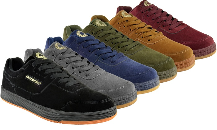 Retro Classic Nubuck Low-Top Sneakers
