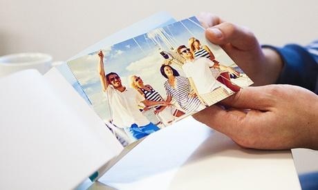 1, 2 o 3 libretas fotográficas personalizables con 50 páginas en Colorland (ES) (hasta 83% de descuento)
