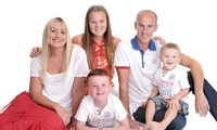 Family Photoshoot with Print, Postcards, Art Block, DVD Slideshow and Voucher at Gareth Doe Photography (95% Off)