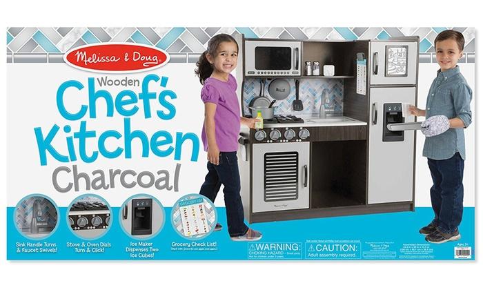 Fantastic Melissa And Doug Chefs Kitchen Pretend Play Set Groupon Interior Design Ideas Oxytryabchikinfo