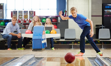 Two Games of Bowling for Two, Four, or Six with Shoe Rental and Soft Drinks at Port Jeff Bowl (Up to 55% Off)