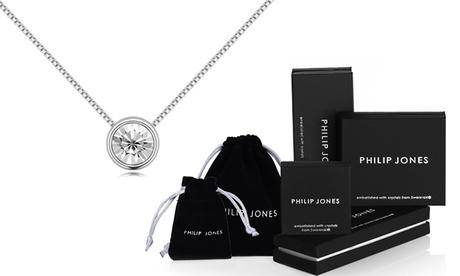 1 o 2 collares Philip Jones intercambiables decorados con cristales de Swarovski®