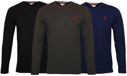 T-Shirts à manches longues de la marque U.S Polo ASSN pour homme