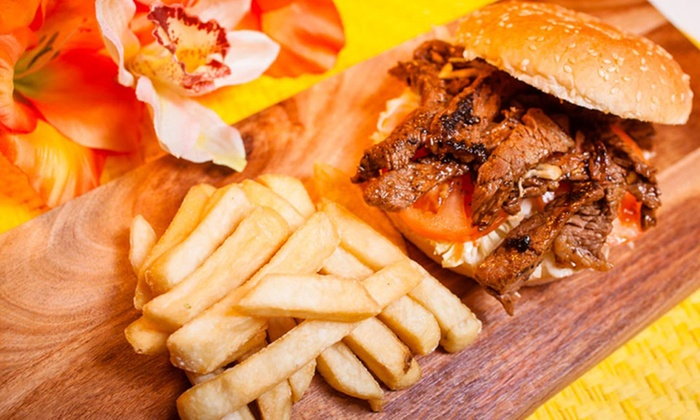 Island Joe's Hawaiian Barbeque - Auckland 1061: $20 to Spend on Hawaiian Food and Drinks for Two People at Island Joe's Hawaiian Barbeque