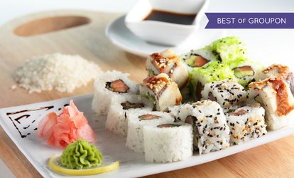 image for $20 Value Toward Sushi Dinner for Two or Four at Izumi Japanese Steak House & Sushi Bar