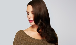 Salon A Hair Studio: Haircut with Blowdry, Color, or Partial or Full Highlight at Salon A Hair Studio (Up to 58% Off)