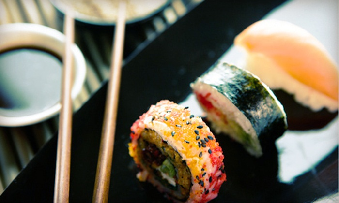 Koto Sushi Lounge - Downtown Calgary: $25 for $50 Worth of Japanese Dinner and Drinks at Koto Sushi Lounge