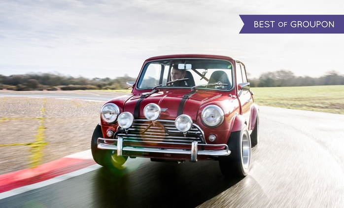 14 Lap Italian Job Mini Driving Experience for One or Two at Drift Limits (51% Off)