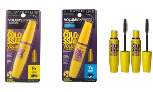 Maybelline The Colossal Volum Express Mascaras (1- or 2-Pack)