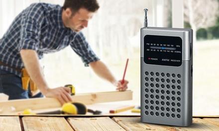 Portable Pocket Radio SZ240 in Choice of Colour