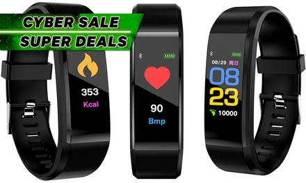 From $17.95 for a Colour Screen Fitness Tracker with HR and BP (Don't Pay up to $70)