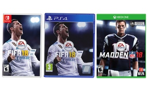 2018 EA Sports Games for PlayStation 4, Xbox One, or Nintendo Switch