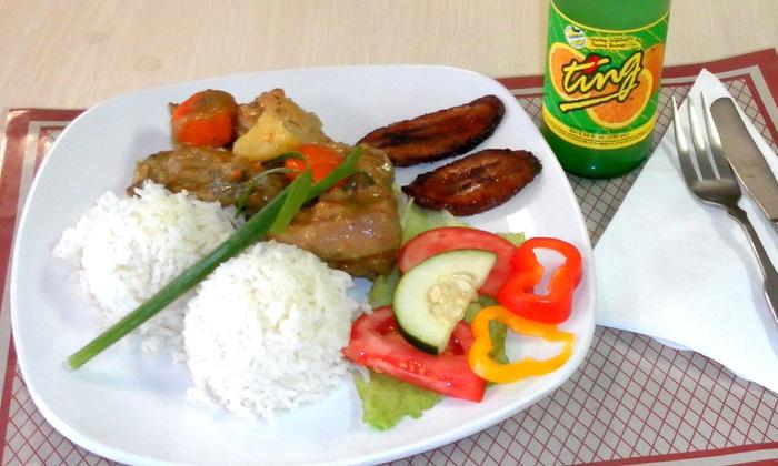 Island Kitchen - Oakcrest: Caribbean Dinner Cuisine at Island Kitchen (Half Off). Two Options Available.